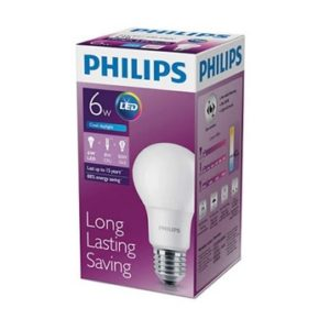Philips LED 6W Putih