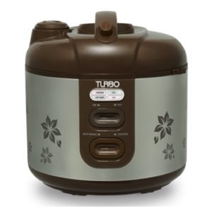 Turbo rice cooker silver
