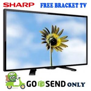 Sharp TV 24 Inch 24LE170 + Bracket