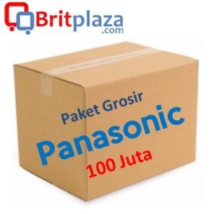 Paket Grosir Panasonic 100 Juta