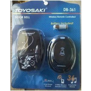 Toyosaki door bell DB-361 hitam