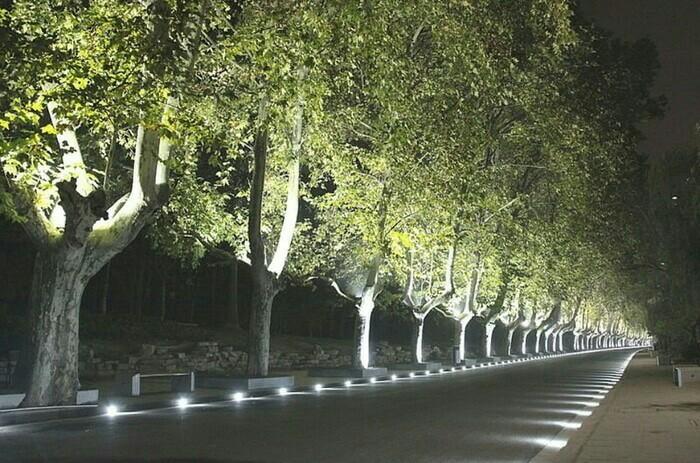 Lampu Sorot Led 100 Watt 100w Outdoor Indoor Tembak Lapangan Taman Britplaza