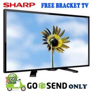 Sharp TV 24 Inch 24LE170 + Bracket