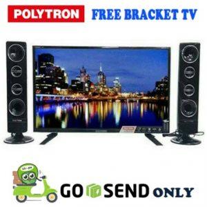 Polytron TV 24 Inch PLD-24T811 + Bracket