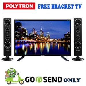 Polytron TV 32 Inch PLD32T1500 + Bracket
