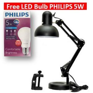 Lampu belajar arsitek free lamp